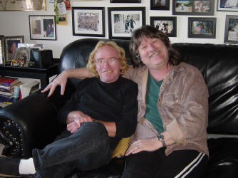 Davey Pattison and Dave Van Kleeck in San Francisco, CA
